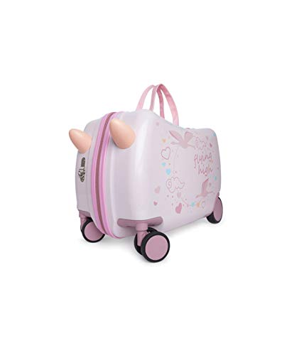 Tuc Tuc 1205170401 - Maleta Trolley De Viaje, Color Rosa