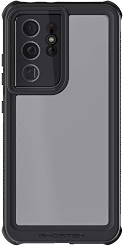 Ghostek Nautical Waterproof Galaxy S21 Case with Built-in Screen Protector Full Body Watertight Sealed Shell Wireless Charging Compatible Designed for Samsung Galaxy S21 5G (6.2 Inch) (Phantom Clear)