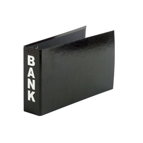 Aulfes 40801-01 Bankordner 250x140x50 schwarz buchbinderisch