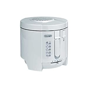 DeLonghi F26200, Blanco, 270 x 270 x 265 mm, 2500 g, 240 MB/s, 50/60 Hz – Freidora