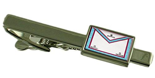 Select Gifts Marque maçonnique Vénérable Maître Regalia Cravate Tablier personnalisé gravé fort