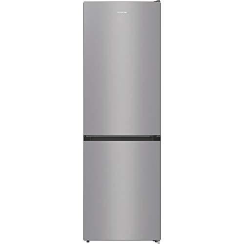 Gorenje RK 6192 ES4 Kühl-Gefrierkombination / 185 cm / 314 l/FrostLess/CrispZone mit Feuchteregler/SlotIn-System/BigBox/LED Beleuchtung/Silber