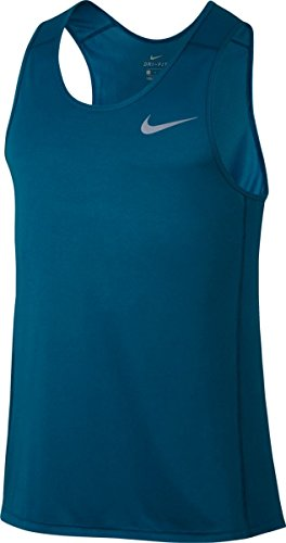 NIKE M NK Dry Miler Camiseta, Hombre, Azul (Industrial Blue), S