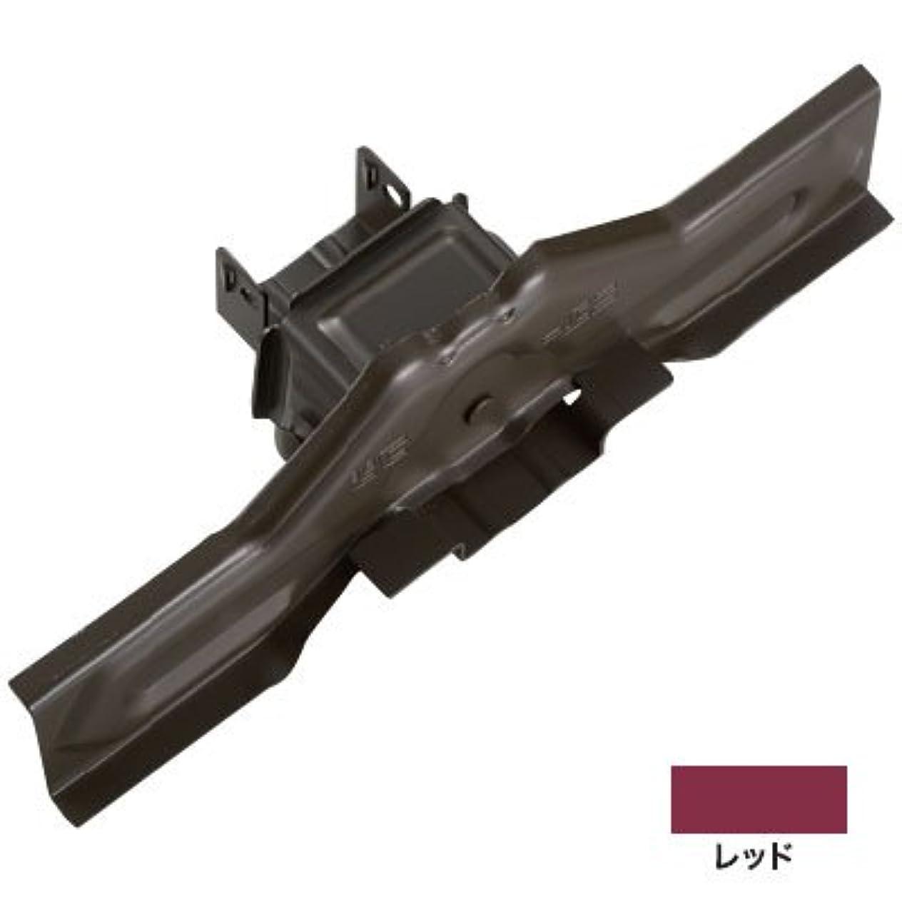 ムスタチオ大惨事ドア白幡 ニューフジ林式 54mm 300mm 亜鉛?レッド(1箱?30個価格) ※受注生産品 H-6