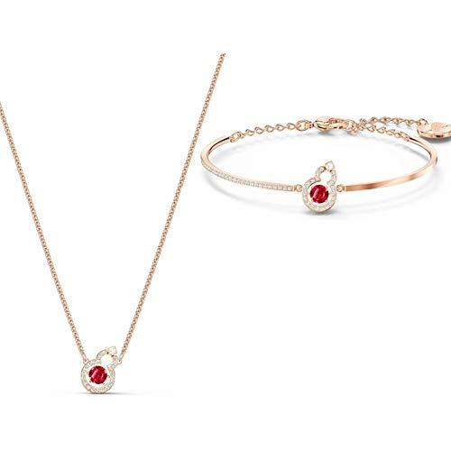 chenyou Colgante de plata con forma de corazón latiendo para la amistad, collar de joyería de la serie de año nuevo (color de metal: pulsera de collar)