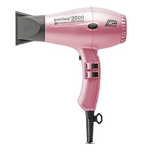 Parlux 3500 C + I Pink - Secador iónico ultracompacto, ceramic, color rosa