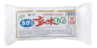 オーサワ  発芽玄米生切り餅(よもぎ) 300g(6個)  6パック