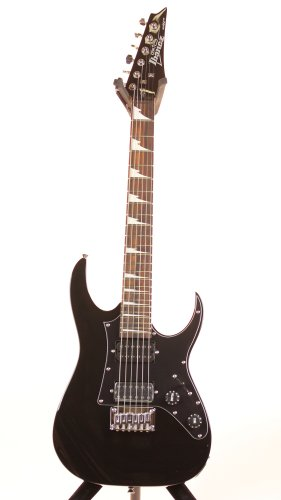 Ibanez GRGM21BKN 3/4 Size Mikro Electric Guitar - Black Night Finish Montana