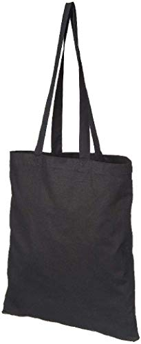 10 x Cotton Shopping Bags. Natural Colour Tote Shoppers. Ideal for Printing or Fabric Painting. Fabric Weight : 5 oz
