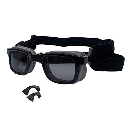 Chamomile1011 creatieve huisdier hond kat bril skibril zonnebril accessoires fabrikanten verstelbare neus bril huisdier