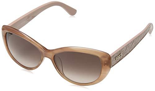 TOD'S Tod'S zonnebril TO9112 Cateye zonnebril 56, meerkleurig