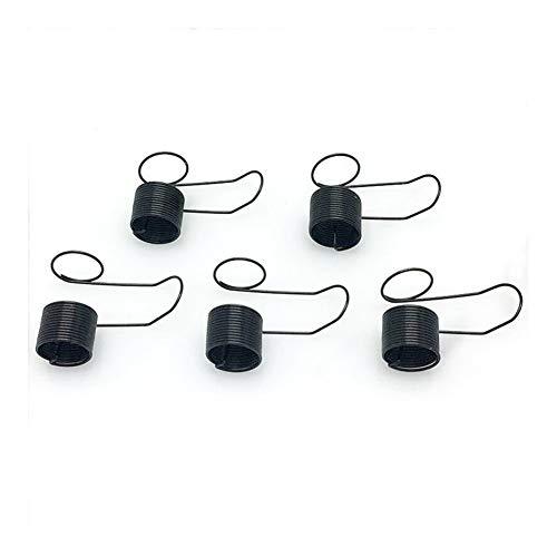 Apropiado 5 Piezas Comprobar la tensión del Hilo del Muelle for Las máquinas de Coser Durable (Color : Black)
