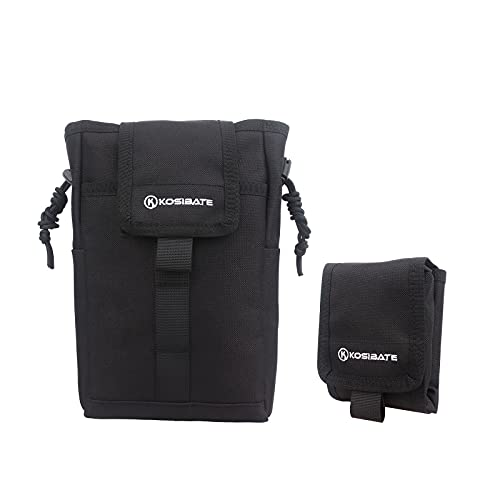 Kosibate Dumo Pouch, Dump Bag Molle Tactical Large Roll Up Mag...