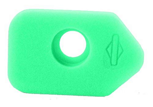 Briggs & Stratton 272235S Schaumstoffluftfilter, grün. Classic, Sprint-und Quattro-Motoren