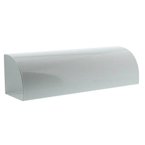 BURG-WÄCHTER, Zeitungsbox, Beidseitig verwendbar, Metall,Vario 820 W, Weiß - 6