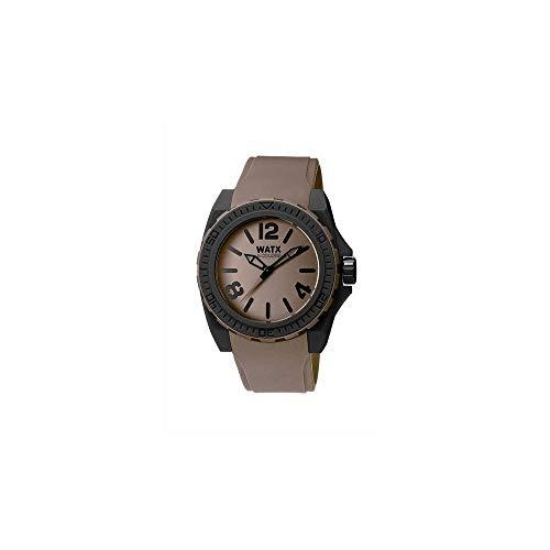 Watx Reloj analogico para Hombre de Cuarzo con Correa en Caucho RWA1805