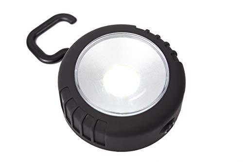 Rollatorlicht weiß, extrem helle LED Taschenlampe, einfach zu befestigen, 3 Batterien inkl.