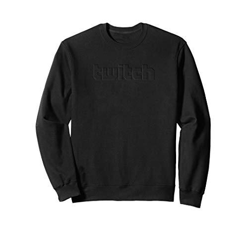 Twitch Puff Mannschaft Sweater - Schwarz M