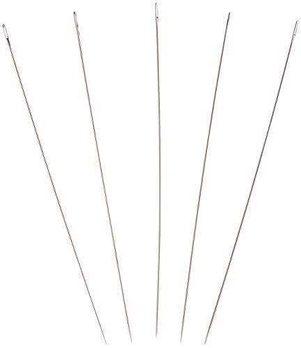 TSL muñeca Agujas, Plateado, 120x 1,1mm, 10Unidades