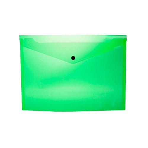 Pryse 4170010 - Sobre portadocumentos A4, color Verde claro