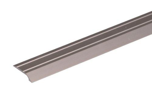 GAH-Alberts 490638 Ausgleichsprofil | selbstklebend | Aluminium, edelstahlfarbig eloxiert | 900 x 39 mm