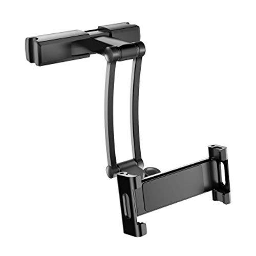 N-B Soporte Universal para Almohada Trasera de Coche para iPad 7-13 'Tablet 360 Soporte de rotación Asiento Trasero Soporte de Mano paraTableta