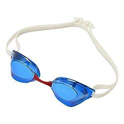 4b49131a6eb arena 水泳 ゴーグル グラス AQUAFORECE SWIFT ノンクッションタイプ くもり止め UVカット FINA承認 AGL-130M  フリーサイズ