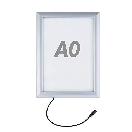 PrimeMatik - Fotolijst verlicht door LED A0 874x1224mm voor reclame-uithangbord