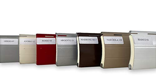 Avvolgibile di varie misure, tapparelle in alluminio coibentato di vari colori. (90x220cm)