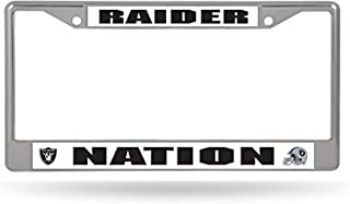 raider nation license plate frame