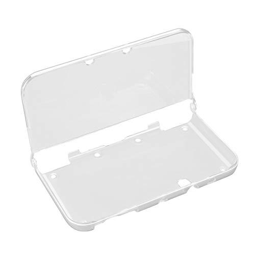 Cubierta de Piel rígida Protectora de Cristal Transparente rígida Ligera para Consola y Juegos Nintend New 3DS XL (Transparente)