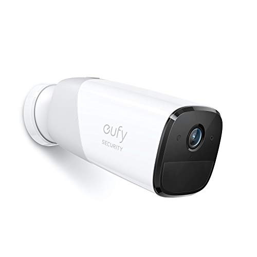 Cámara de Seguridad inalámbrica Adicional eufyCam 2 Pro de eufy Security, la batería duración de 365 días, compatible con HomeKit, resolución 2K, impermeableIP67, visión nocturna, necesita HomeBase 2