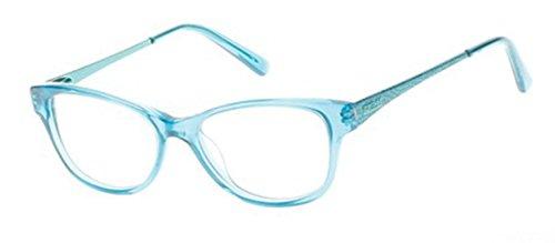 Guess GU9135 Eyeglass Frames - Turquoise Frame, 48 mm Lens Diameter GU913548089