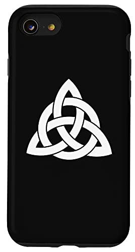 iPhone SE (2020) / 7 / 8 Trinity Knot Irish Celt Triquetra Celtic Cross Christian Case