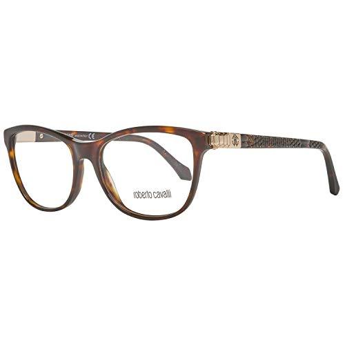 Roberto Cavalli RC0969 53052 Roberto Cavalli Brille RC0969 052 53 Schmetterling Brillengestelle 53, Braun
