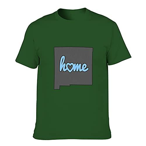 YCNJJB Camiseta de algodón para hombre, diseño de mapa de novedad, divertida, ultra suave, con patrón de EE. UU