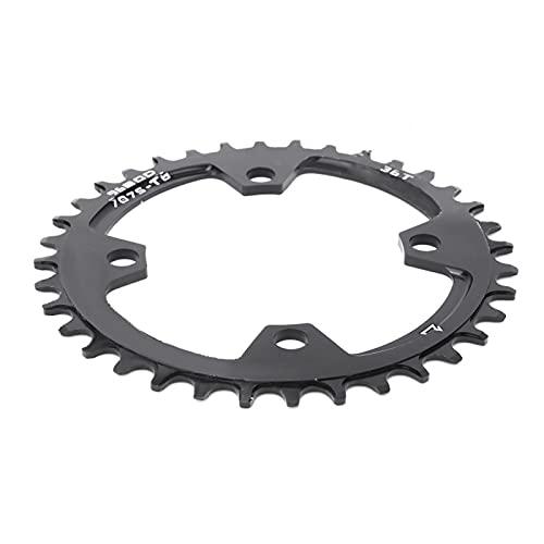Anillo de cadena de reparación de plato redondo Anillo de cadena de bicicleta de montaña para montar en senderos para deportes escolares(36T)