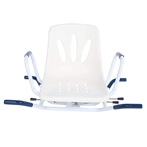 MWPO Taburetes de baño Asiento de baño Giratorio, Taburete de Ducha Silla giratoria Ajustable 360 Grados para Ayudar a los discapacitados Banco de Transferencia de Ducha para Ancianos