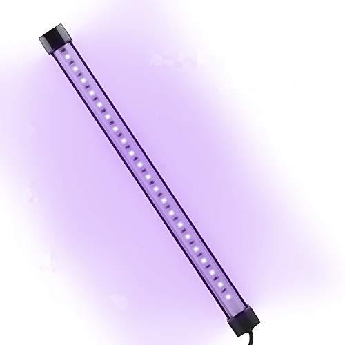Lámpara de Esterilización UV, AGM Lámpara Germicida Ultravioleta Portátil, Lámpara Desinfección para Dormitorios, Coche, Mascotas, Cocina