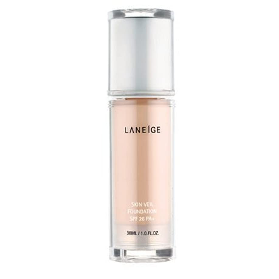 脅威汚す正しいAmore Pacific Laneige Skin Veil Foundation SPF26PA+ 30ml/1.0fl.oz. 21 Natural Beige
