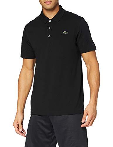 Lacoste Homme Polo, manches courtes L1230 Sport - Noir (Noir) - Small (FR: 3)
