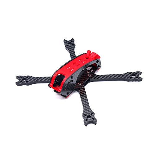 TCMMRC Drone Frame Cloud Roll 220 Fibra de carbono y materiales flexibles 3D resistente para carreras de drones (Cloud Roll 220)