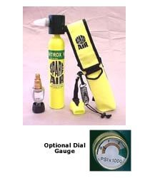 Spare Air 1.7 and/or 3-0 Cu Ft Submersible Emergency Air Supply Package Set S... by Trident