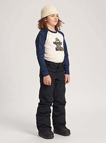 Burton Boys' Exile Cargo Snow Pant, True Black W20, Medium