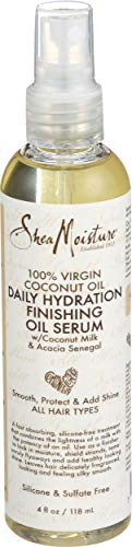 Sheamoisture, Serum Finishing Oil Daily Hydration, 4 Fl Oz