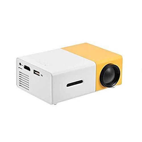 Mini proyector portátil de interior / exterior 1080P LED Proyector para cine...