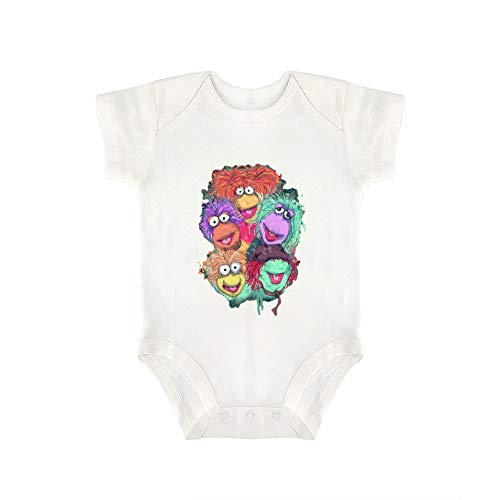 Triangular Baby Jumpsuit Fraggle Rock Cute Super Soft Cotton Protects Baby's Body