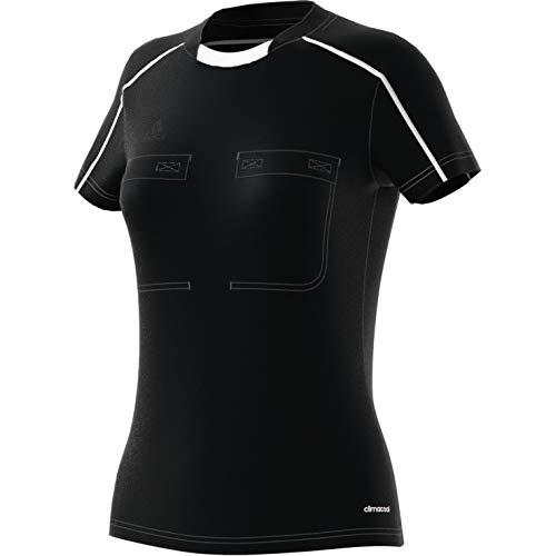 adidas Damen Referee 16 Women Jersey Schiedsrichtertrikot, Black/White, XS