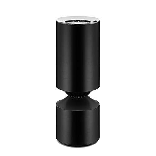 Purificateur d'air de voiture True HEPA pour filtre à air Purificateur d'air ionique pour voiture Freshner Ionizer Purificateur d'air ionique élimine la fumée de pollen Odeur de mauvaise odeur