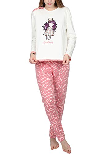 Santoro Pijama Manga Larga Love Heart para Mujer